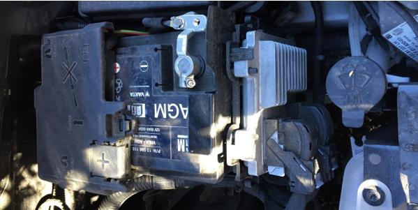 Vauxhall Corsa Sting Battery